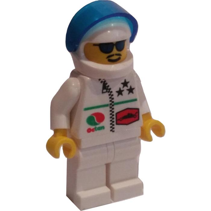 LEGO Dark Red Space Minifig Helmet with Black Visor