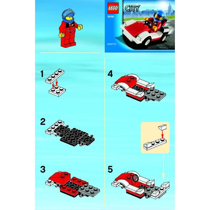 LEGO Racing Car Set 30150 Instructions