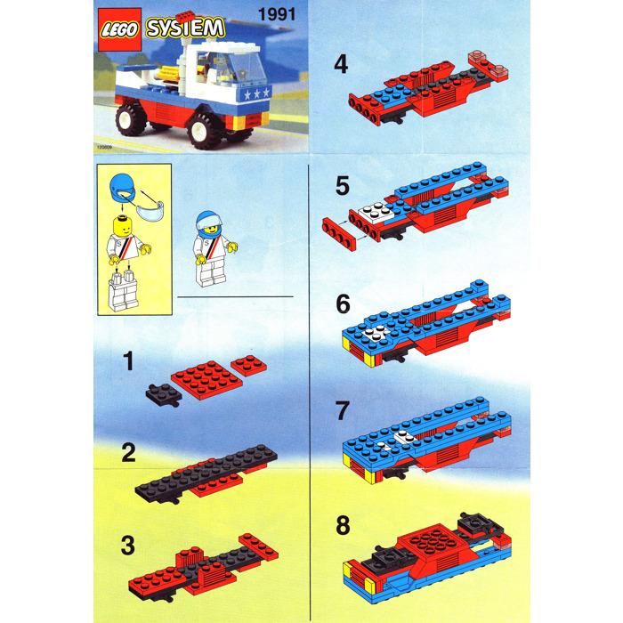 Lego Racing Pick Up Truck Set 1991 Instructions Brick Owl Lego