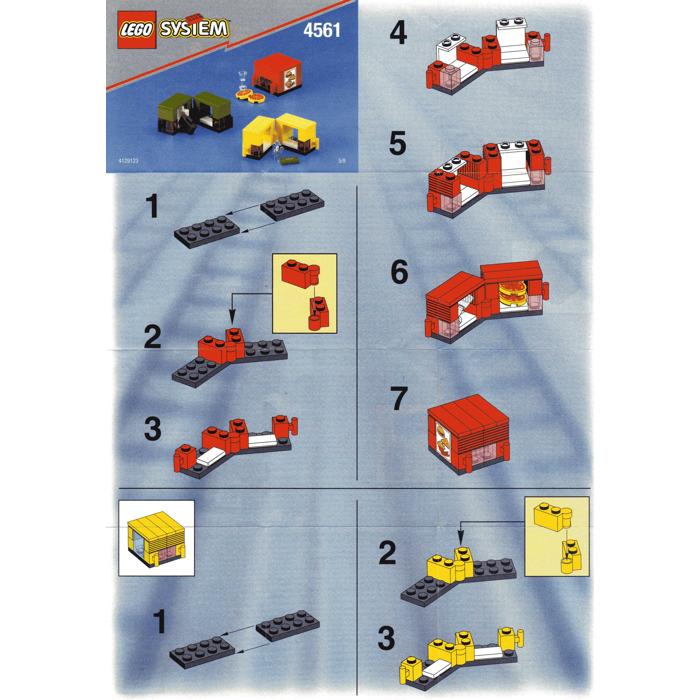 Lego Railway Express Set 4561 Instructions Brick Owl Lego