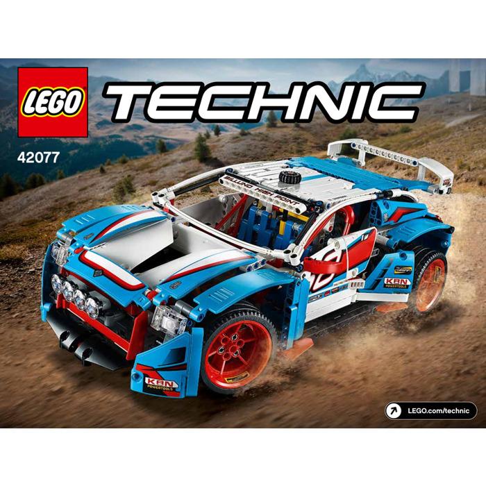 lego rally car set 42077 instructions brick owl lego. Black Bedroom Furniture Sets. Home Design Ideas
