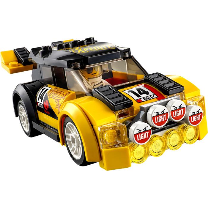 lego rally car set 60113 brick owl lego marketplace. Black Bedroom Furniture Sets. Home Design Ideas