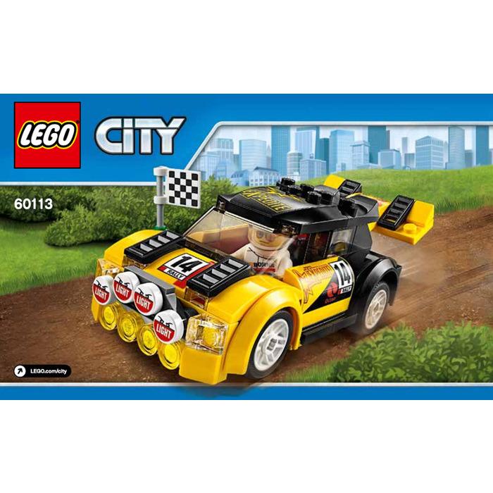 Lego Rally Car Set 60113 Instructions Brick Owl Lego Marketplace