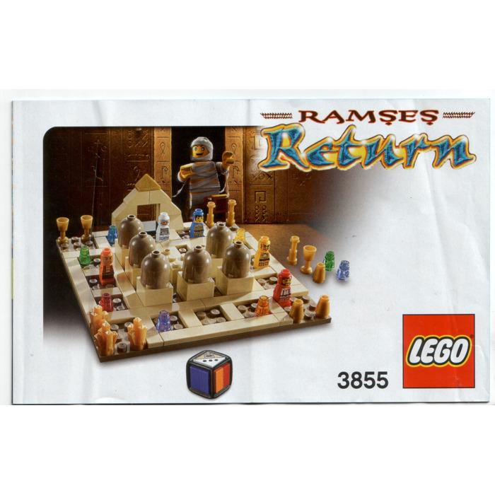 Lego Ramses Return 3855 Instructions Brick Owl Lego Marketplace