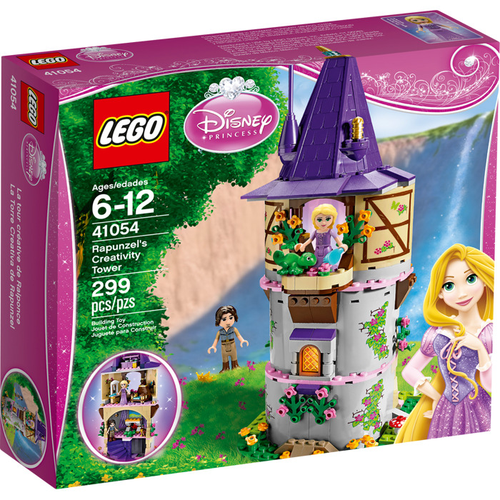 lego rapunzel tower instructions