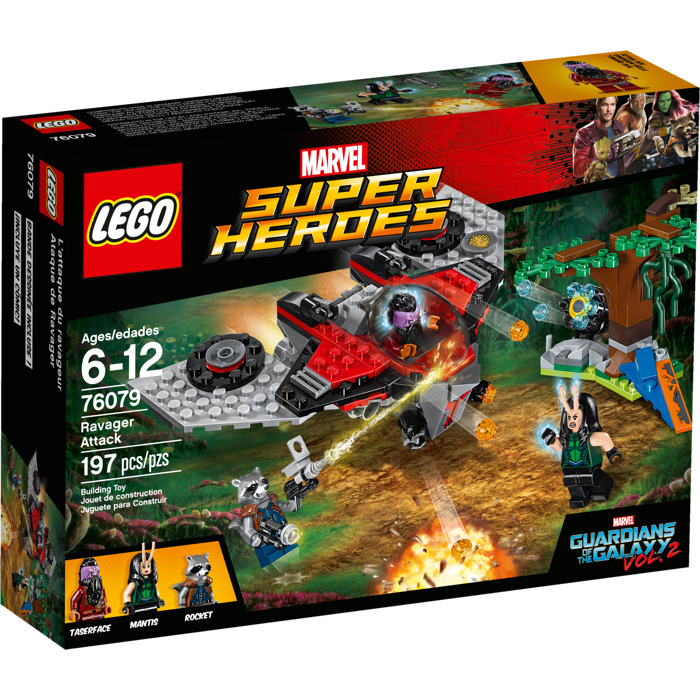 LEGO MARVEL GUARDIAN OF THE GALAXY 2: 76079 Ravanger Attack * IN ...