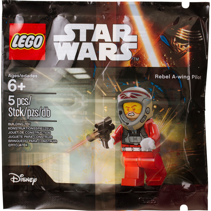 Lego Star Wars Rebel A-Wing Pilot Polybag 5004408 Pilote Minifigure Figurine New