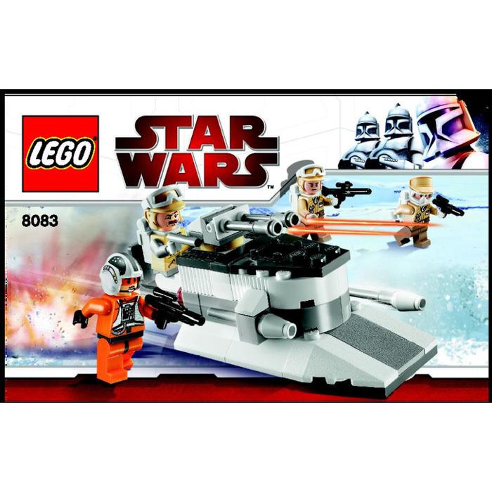 Lego rebel trooper battle pack set 8083 instructions for Siege lego france