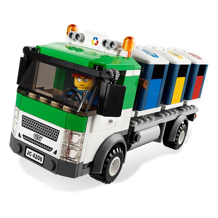 LEGO Recycling Truck Set 4206-2   Brick Owl - LEGO Marketplace
