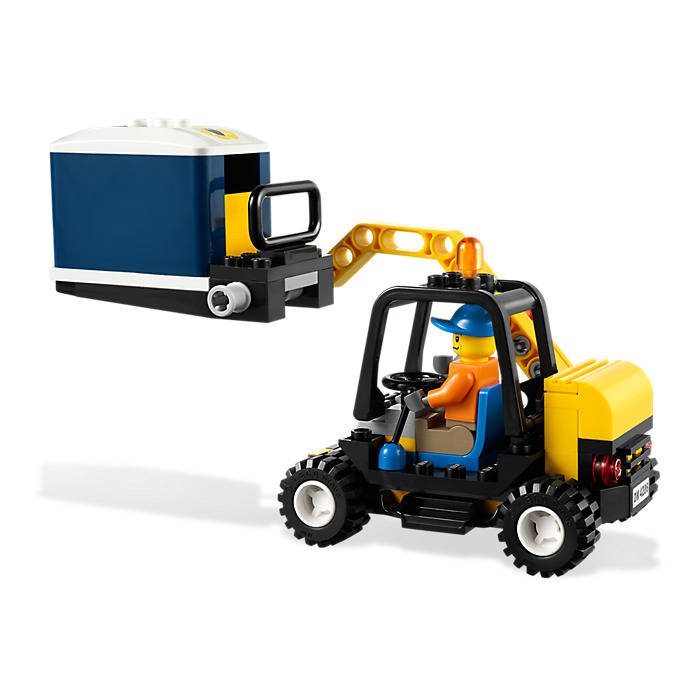 lego recycling truck instructions