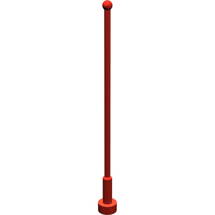 Lego 2569-Antenna 8 studs high-47094 x1