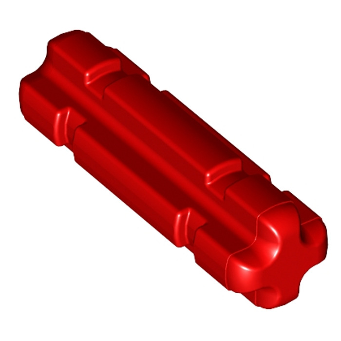 rouge, red 15 x LEGO Technic 32062 Axe 2M Cross Axle 2L Notched NEUF NEW