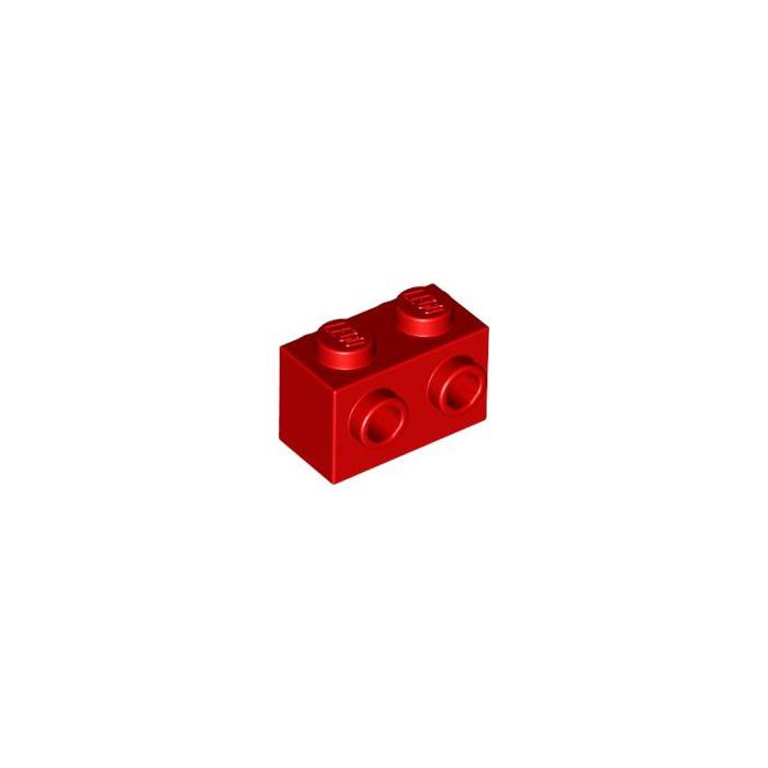 LEGO Bulk Red 1x2 with 2 studs each side,#52107 x 15