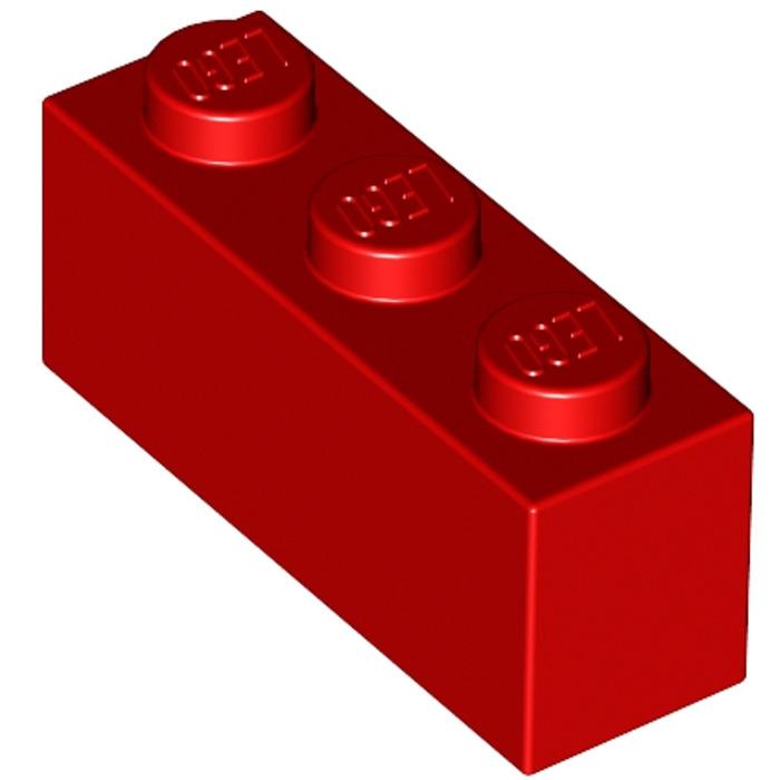 WHITE  REF 3622 362201  *NEUF* LEGO LOT 50 X BRIQUE 1X3 BLANC