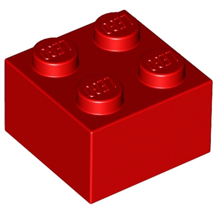 LEGO Red Brick 2 x 2 (3003)   Brick Owl - LEGO Marketplace