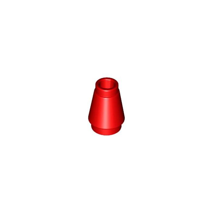 Lego 50 Red Cone Bricks 1x1 Cone in Red Cone NEW NEW Tapered Stone