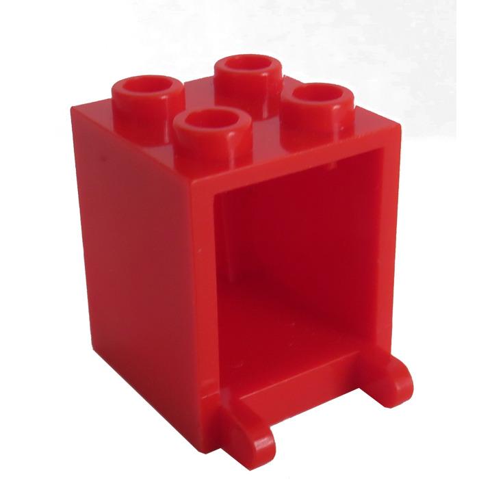 Lego 2343 6269 28657 vasos de cáliz trofeo rojo Red