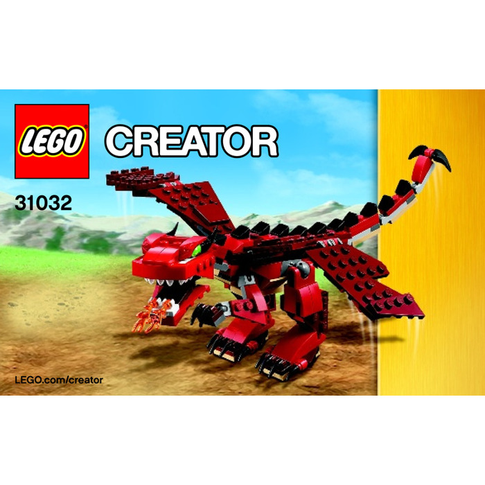 Lego Red Creatures Set 31032 Instructions Brick Owl Lego Marketplace