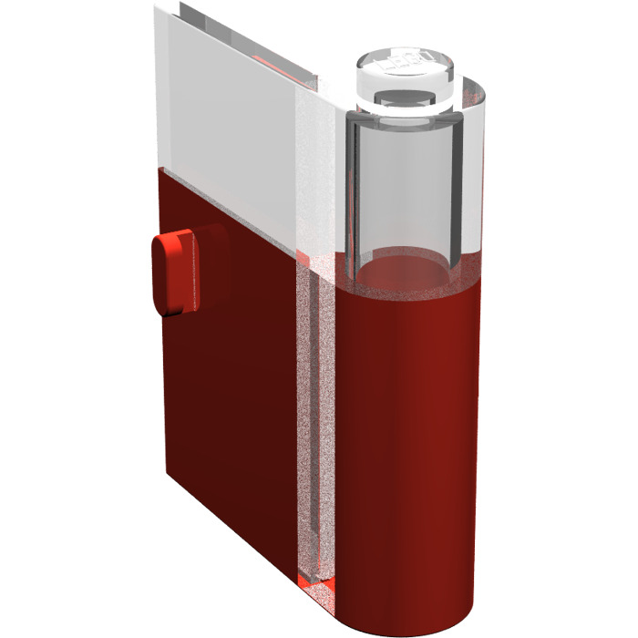 Lego red door 1 x 3 x 3 right with window brick owl for 2 x 3 window