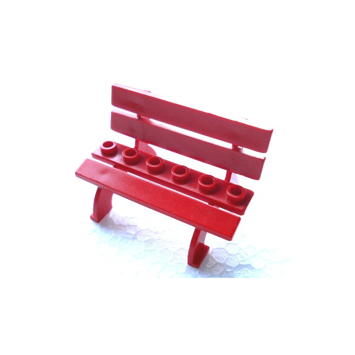 Awe Inspiring Lego Red Fabuland Bench Seat Gmtry Best Dining Table And Chair Ideas Images Gmtryco