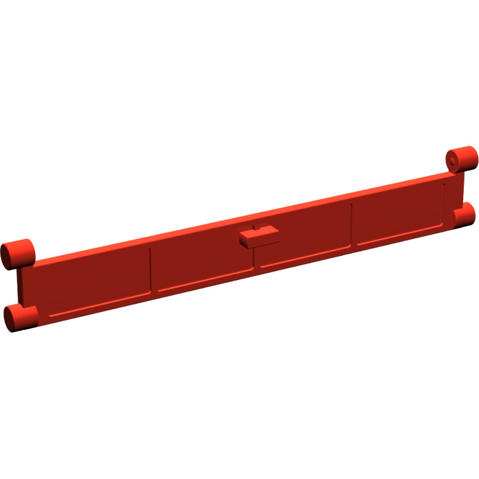 Lego Red Garage Roller Door Section With Handle Brick Owl Lego