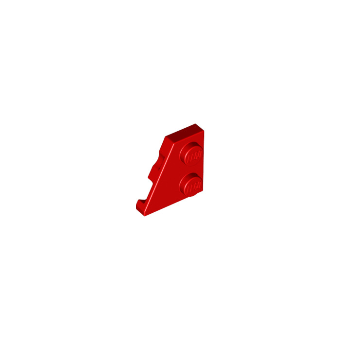 Wedge Flat 2x2 Left Wing New New 4 x Lego 24299 Plate Wing Red, Red
