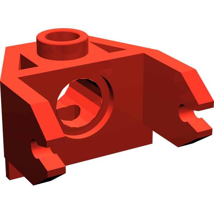 LEGO 2607 red Magnet Holder 2 x 3