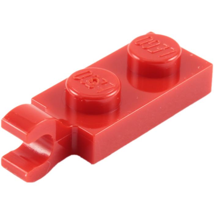 LEGO 63868 Piastra Clip orizzontale 1x2 colore a scelta