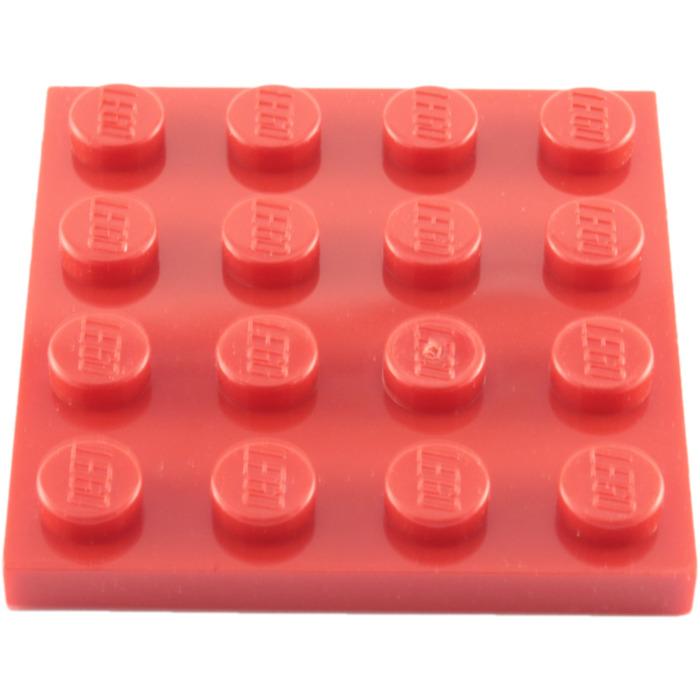 No 3031 LEGO Parts QTY 5 Blue Plate 4 x 4