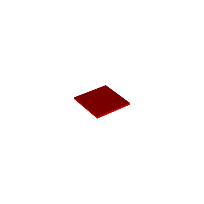 lego red tile 6 x 6 with bottom tubes 10202 brick owl lego marketplace. Black Bedroom Furniture Sets. Home Design Ideas