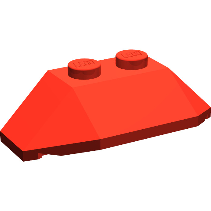 LEGO Red Wedge 2 x 4 Triple (47759)