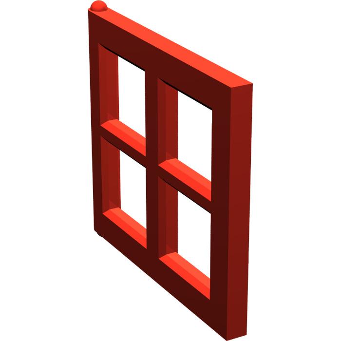 lego window 2 x 4 x 3 pane 4133 brick owl lego