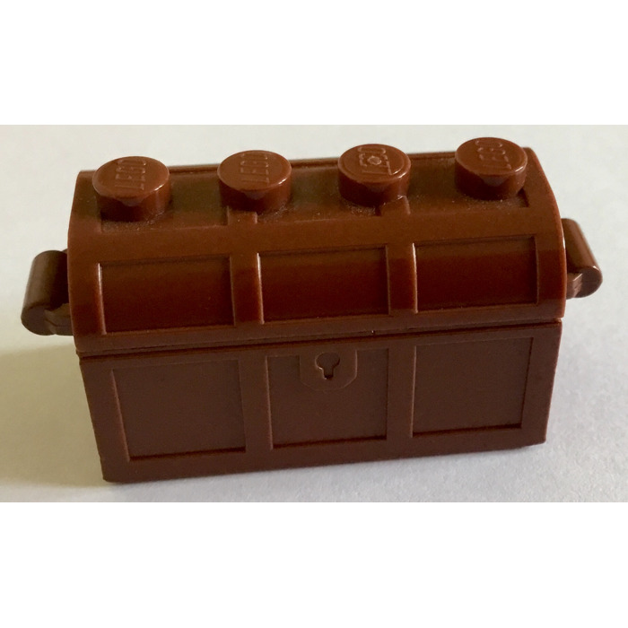 1 X Lego 4738ac01 Container Slots in Back with Same Col Treasure Chest Bottom