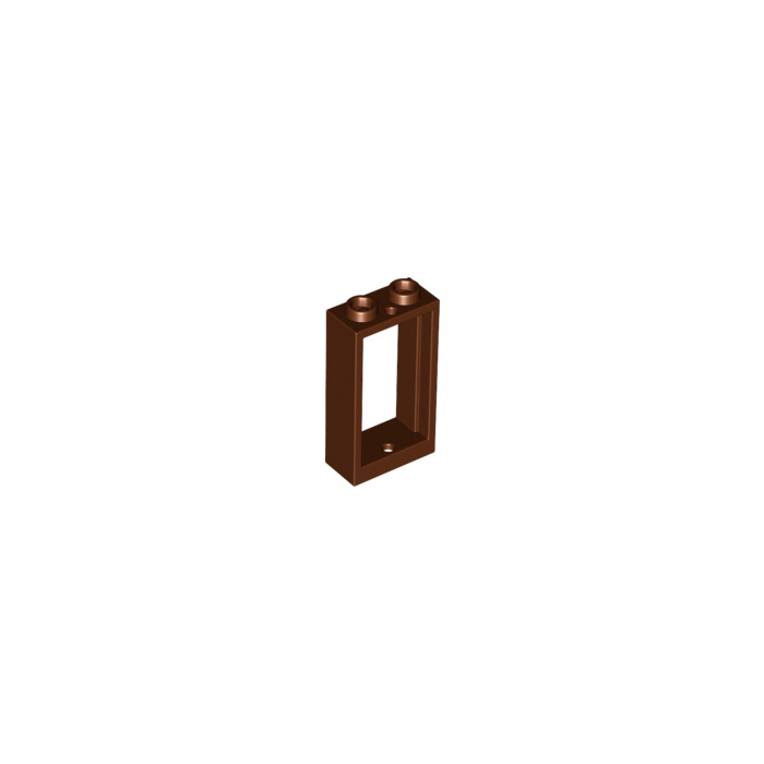 Lego brun rouge tre window 1 x 2 x 3 without sill 60593 for 2 x 3 window