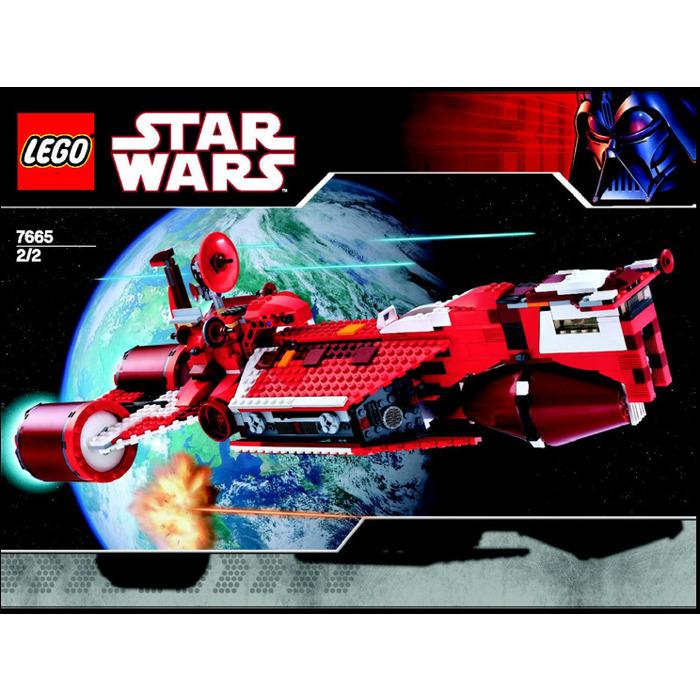 Lego Republic Cruiser Set 7665 Instructions Brick Owl Lego