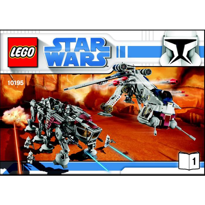 Lego Republic Dropship With At Ot Walker Set 10195 Instructions