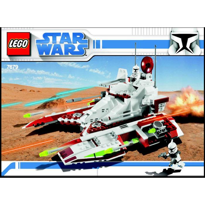 Lego Republic Fighter Tank Set 7679 Instructions Brick Owl Lego