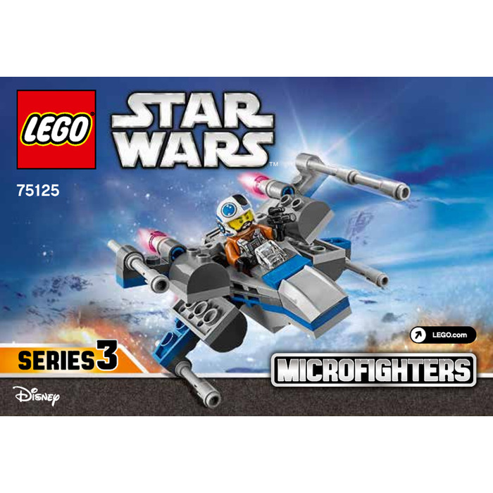 LEGO Resistance X-wing Fighter Set 75125 Instructions | Brick Owl ...