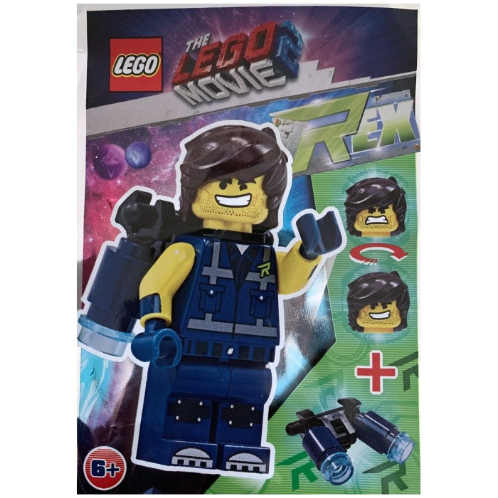 LEGO Movie 2 Rex with Jet Pack Minifigure Foil Pack Set 471906