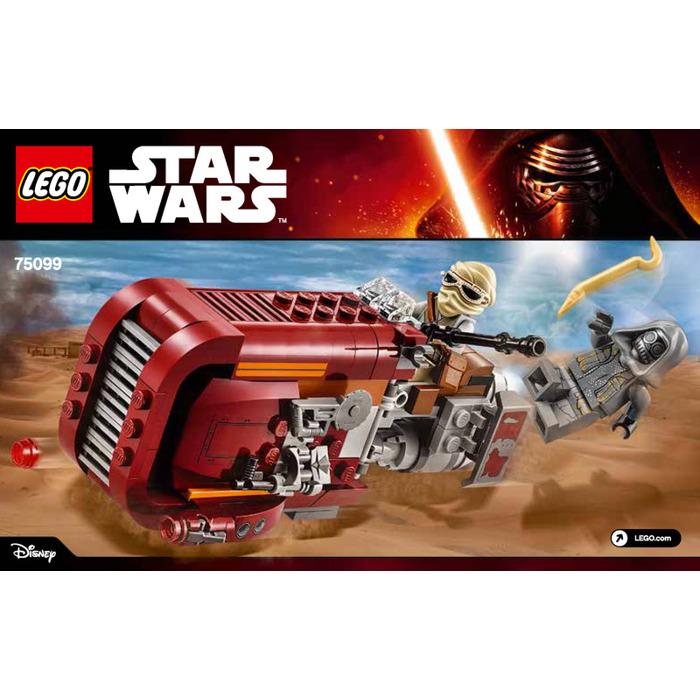 Lego Reys Speeder Set 75099 Instructions Brick Owl Lego Marketplace