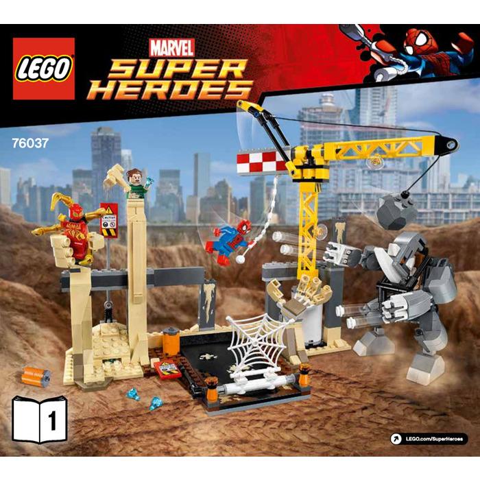 LEGO Rhino and Sandman Super Villain Team-up Set 76037 ...