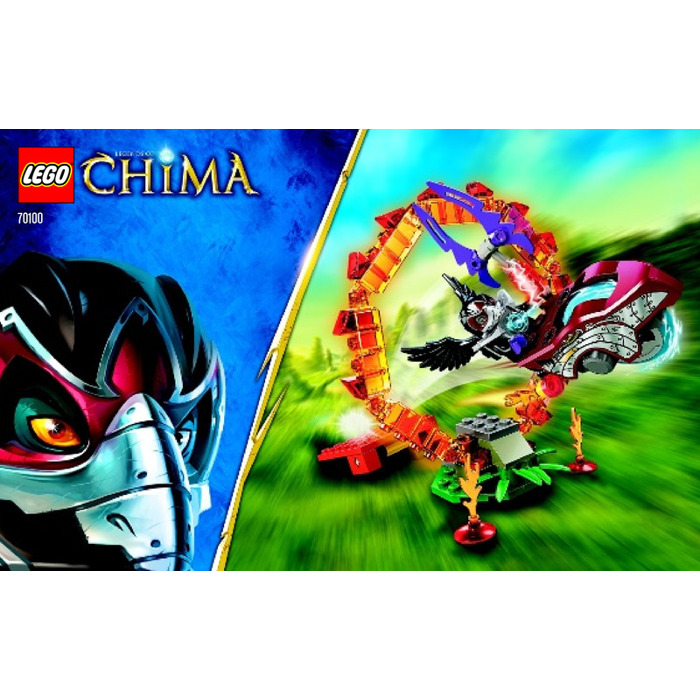 Lego Ring Of Fire Set 70100 Instructions Brick Owl Lego Marketplace