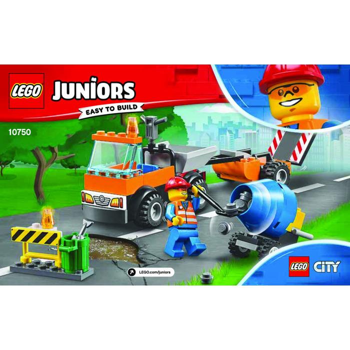 Lego Road Repair Truck Set 10750 Instructions Brick Owl Lego