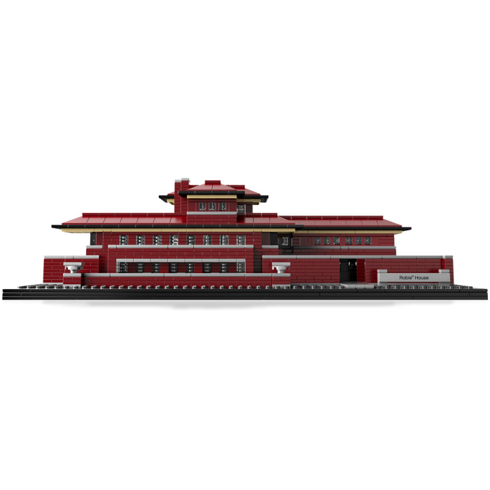 lego robie house set 21010 | brick owl - lego marketplace