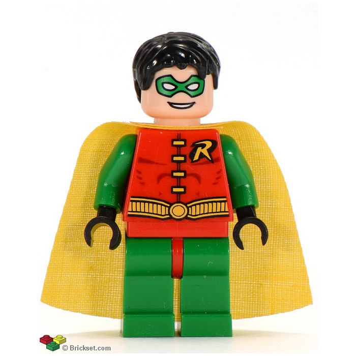Red Hips and Green Legs - Legs /& Hips Minifig LEGO BATMAN Robin