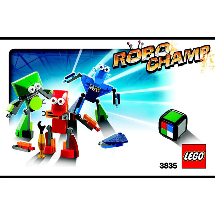 LEGO Robo Champ (3835) Instructions | Brick Owl - LEGO Marketplace