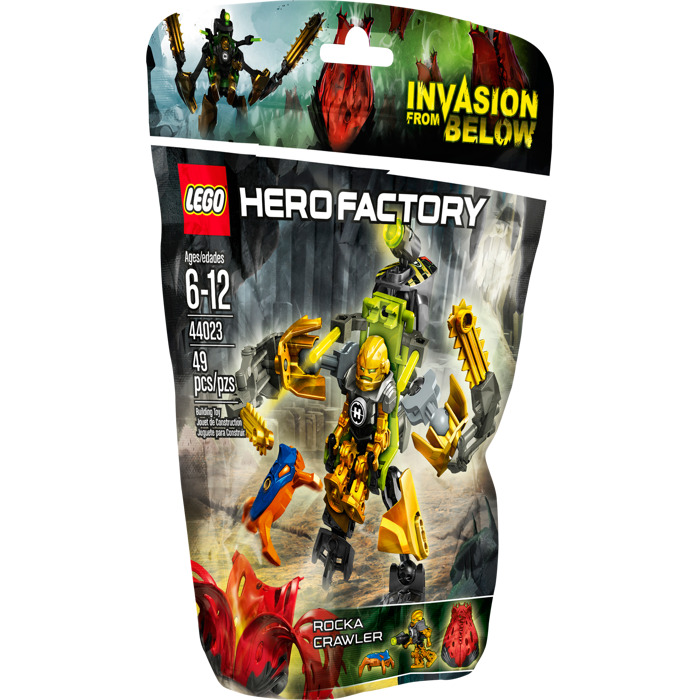 hero factory rocka instructions