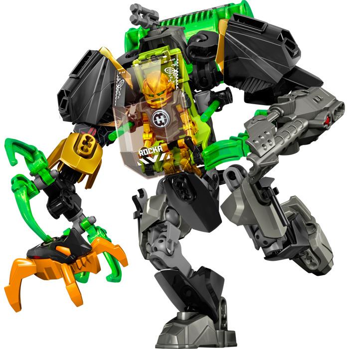 Lego Hero Factory Orangeblack Jumper Minifigure Comes In Brick