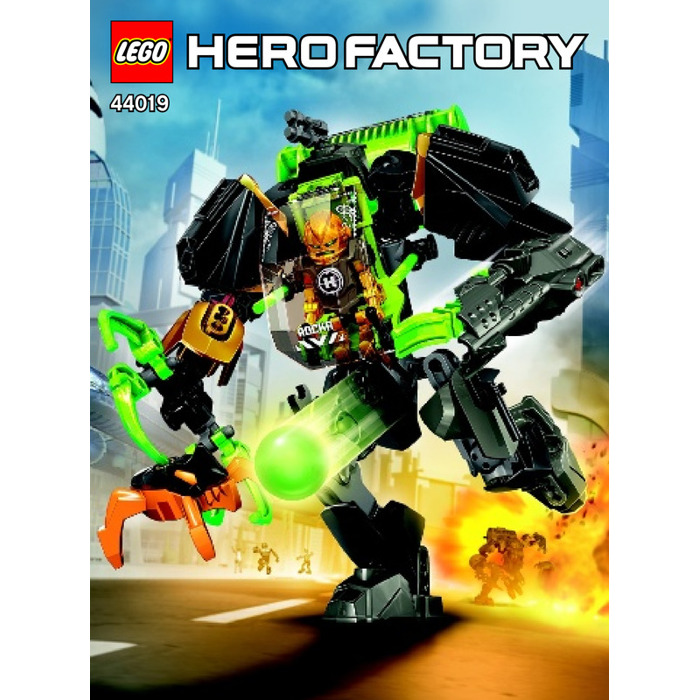 Lego Rocka Stealth Machine Set 44019 Instructions Brick Owl Lego