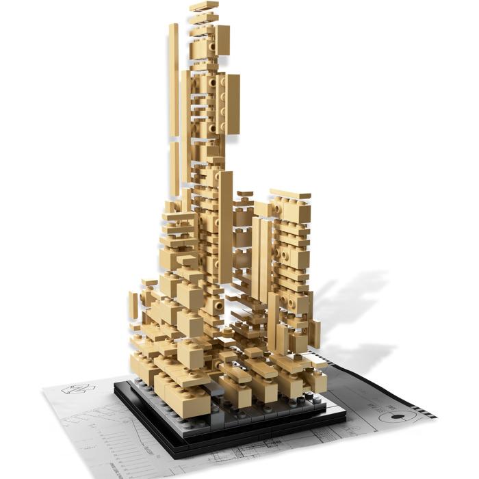 LEGO Rockefeller Center Set 21007   Brick Owl - LEGO Marketplace